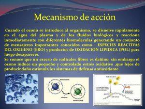 que es la ozonoterapia - mecanismo de accion